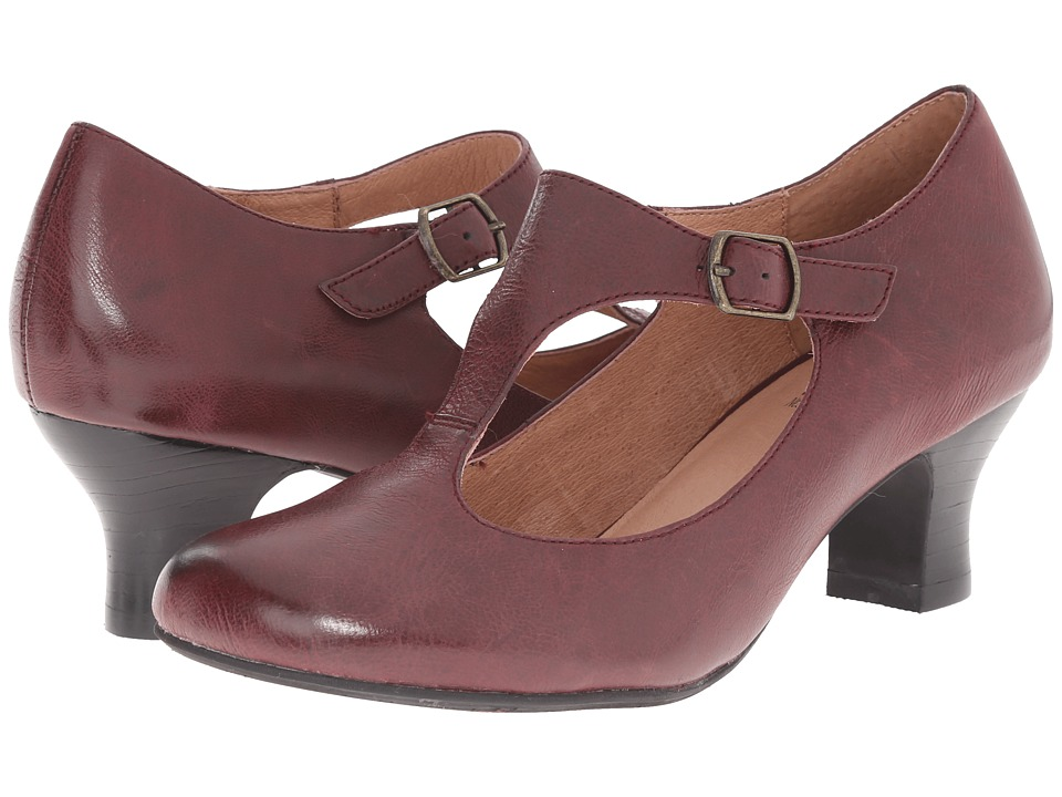 Miz Mooz - Trina Wine Womens 1-2 inch heel Shoes $129.95 AT vintagedancer.com