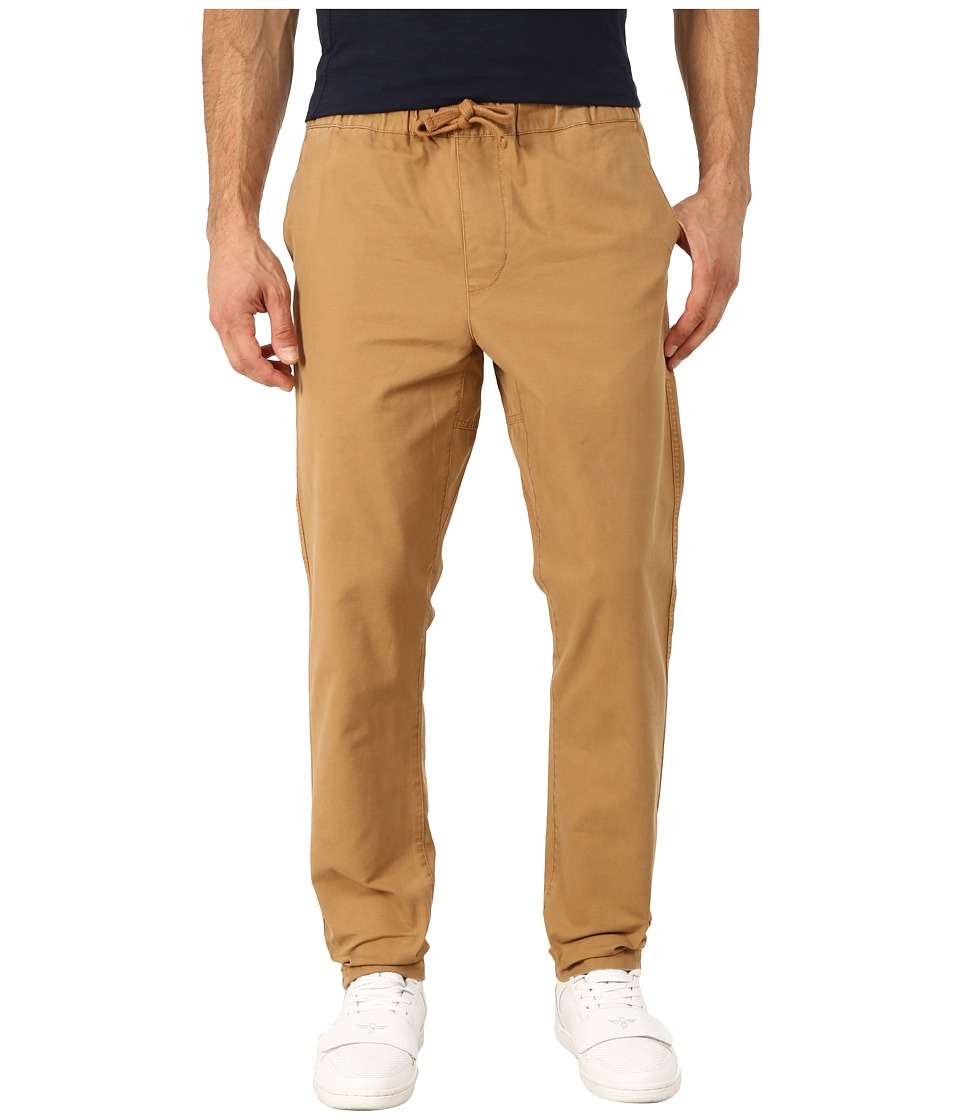 Obey Travelers Slub Twill Pants (Khaki) Men
