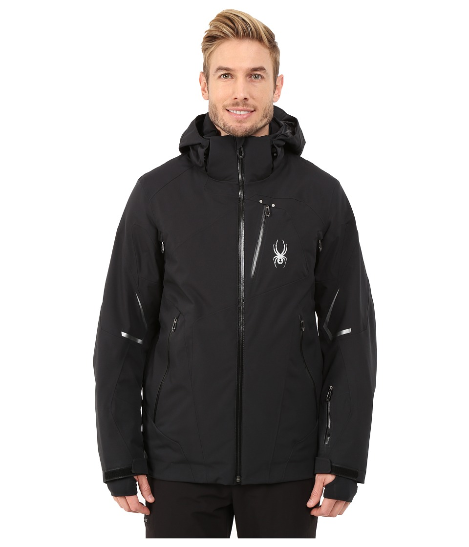 Spyder Leader Jacket BlackBlackBlack Mens Jacket