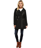 MICHAEL Michael Kors - Asymmetrical Zip Trench