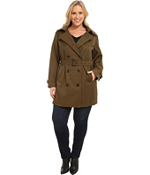 MICHAEL Michael Kors - Plus Size Double-Breasted Trench