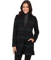 MICHAEL Michael Kors - Plaid Menswear Wool Coat