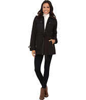 MICHAEL Michael Kors - Zip Front Belted Soft Shell
