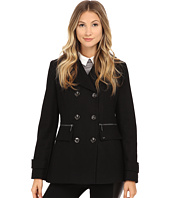 MICHAEL Michael Kors - Wool Double-Breasted Peacoat