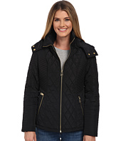 MICHAEL Michael Kors - Zip Front Hooded Quilt