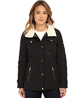 MICHAEL Michael Kors - Sherpa Lined Snap Front Quilt