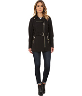 MICHAEL Michael Kors - Asymmetrical Zip Soft Shell