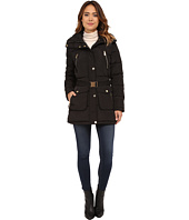 MICHAEL Michael Kors - Faux Fur Belted Four-Pocket Coat