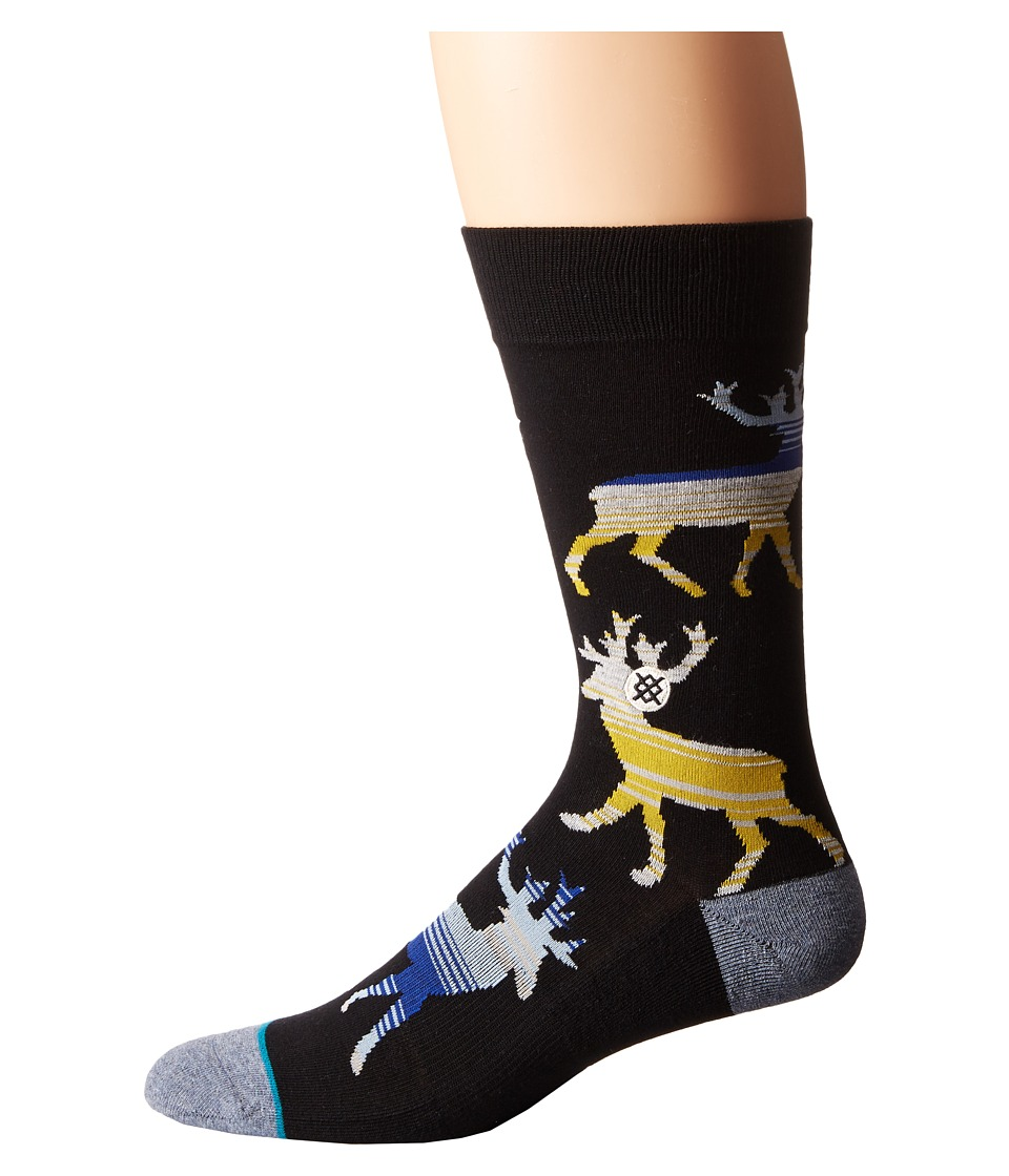 Stance Donner Yellow Mens Crew Cut Socks Shoes
