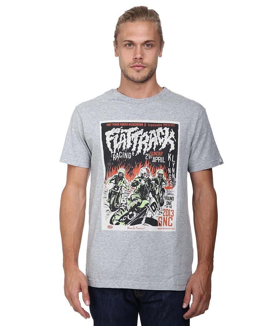 Deus Ex Machina Dirty 5 Tee Athletic Grey Mens T Shirt