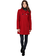 Larry Levine - 3/4 D/B Wool Swing Coat