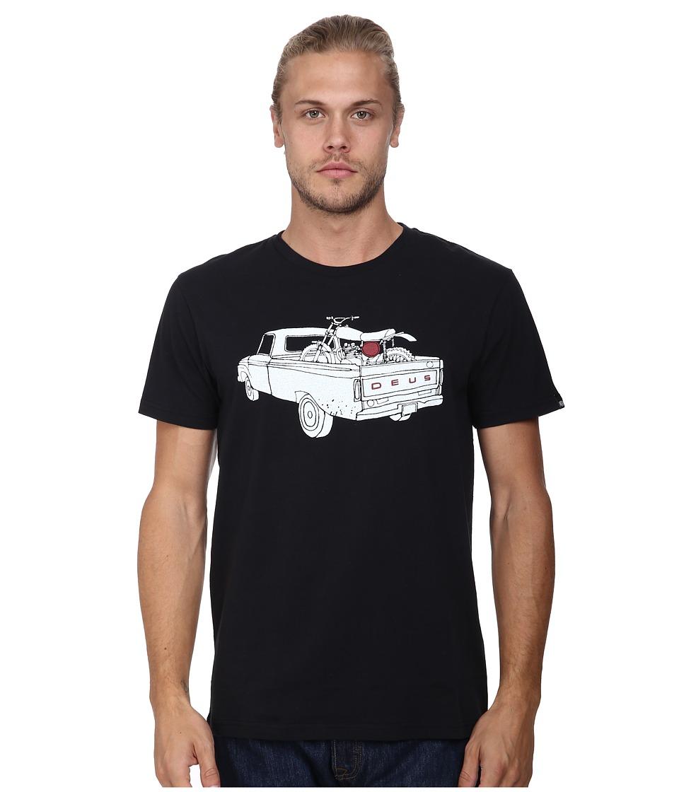 Deus Ex Machina F100 Tee Black Mens T Shirt