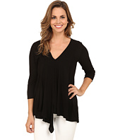 Miraclebody Jeans - Alyse Asymmetrical Top w/ Body-Shaping Inner Shell