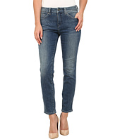 Miraclebody Jeans - Joan Raw Hem Ankle Jeans in Hemlock Blue
