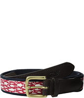 Vineyard Vines - School Of Fish Canvas Club Belt