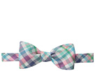 Madras Bow Tie-Minnow Plaid