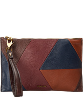 Fossil - Patchwork Large Zip Clutch