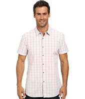 Kenneth Cole Sportswear - Short Sleeve Glen Plaid Shirt