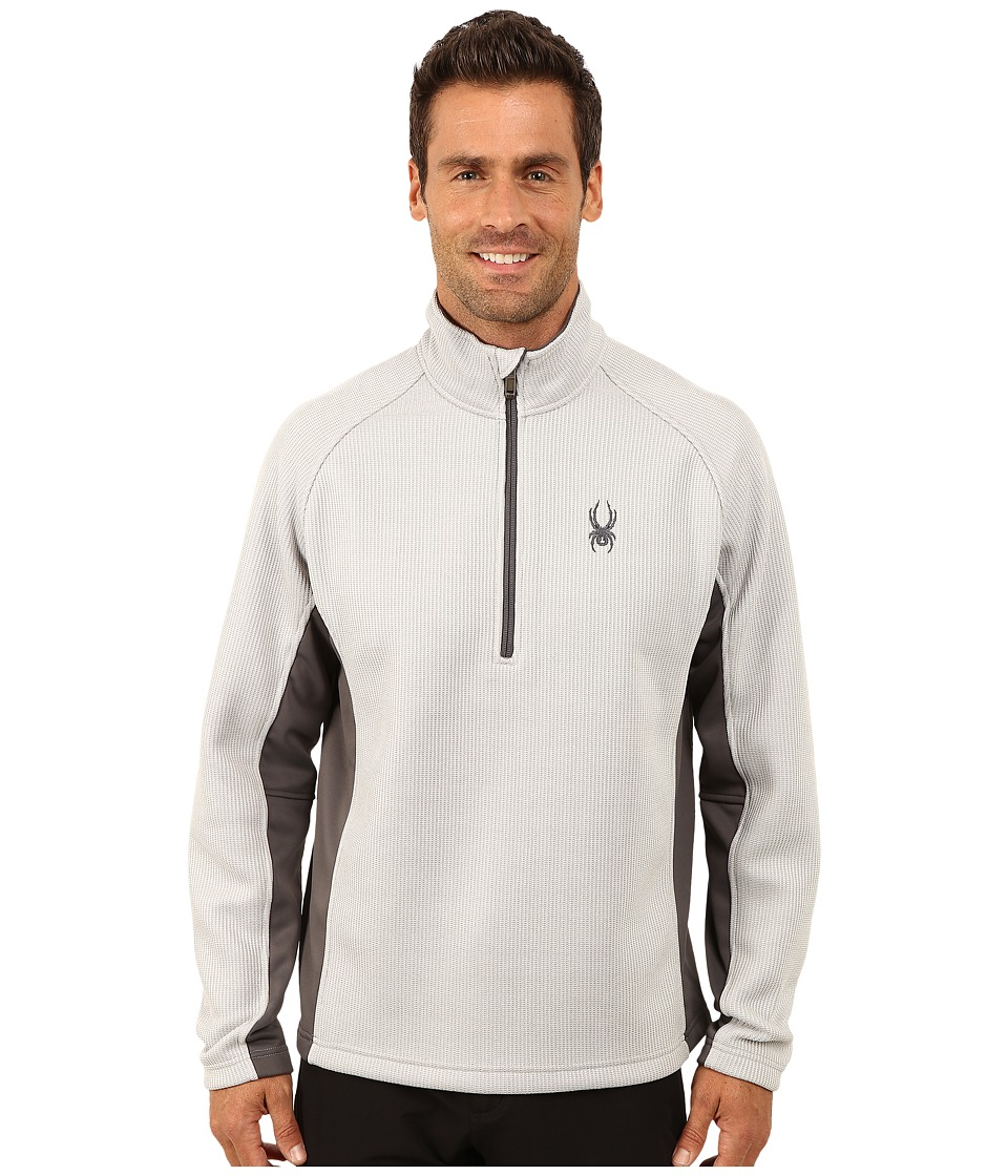 Spyder - Outbound Half Zip Mid Weight Core Sweater (Cirrus/Polar/Polar) Men