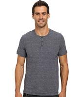 Kenneth Cole Sportswear - Short Sleeve Stripe Henley