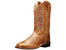 Old West Kids Boots Western Boots (Toddler/Little Kid) (Tan Fry)