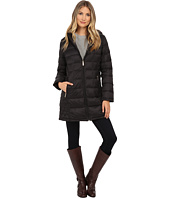 MICHAEL Michael Kors - 3/4 Packable w/ Attached Hood