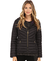 MICHAEL Michael Kors - Short Zip Packable Down
