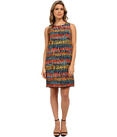 kensie - Painted Zigzag Dress KS0K7756