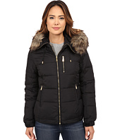 MICHAEL Michael Kors - Short Hooded w/ Faux Fur