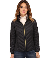 MICHAEL Michael Kors - Short Chevron Packable w/ Zip Out Hood