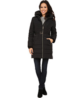 MICHAEL Michael Kors - Belted Club Collar w/ Zip Out Hood
