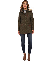 LAUREN by Ralph Lauren - Anorak w/ Faux Fur Trim
