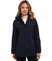 LAUREN Ralph Lauren - Quilted Shoulder w/ Knit Collar