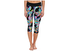 Sea Garden Mid-Length Leggings