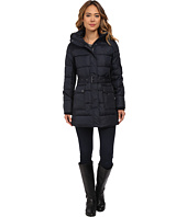 LAUREN Ralph Lauren - Belted Polyfill Down with Hood