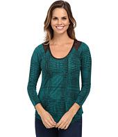 Calvin Klein Jeans - Printed Lace Raglan Sleeve Top