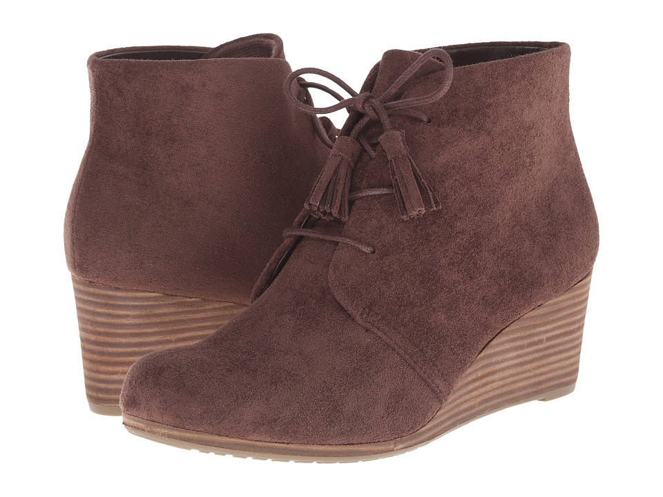 Dr. Scholl's Dakota (Dark Brown Microfiber) Women's Shoes