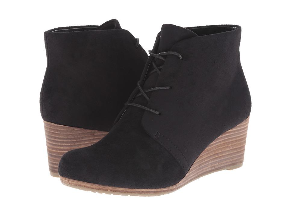Dr. Scholl's Dakota (Black Microfiber) Women's Shoes