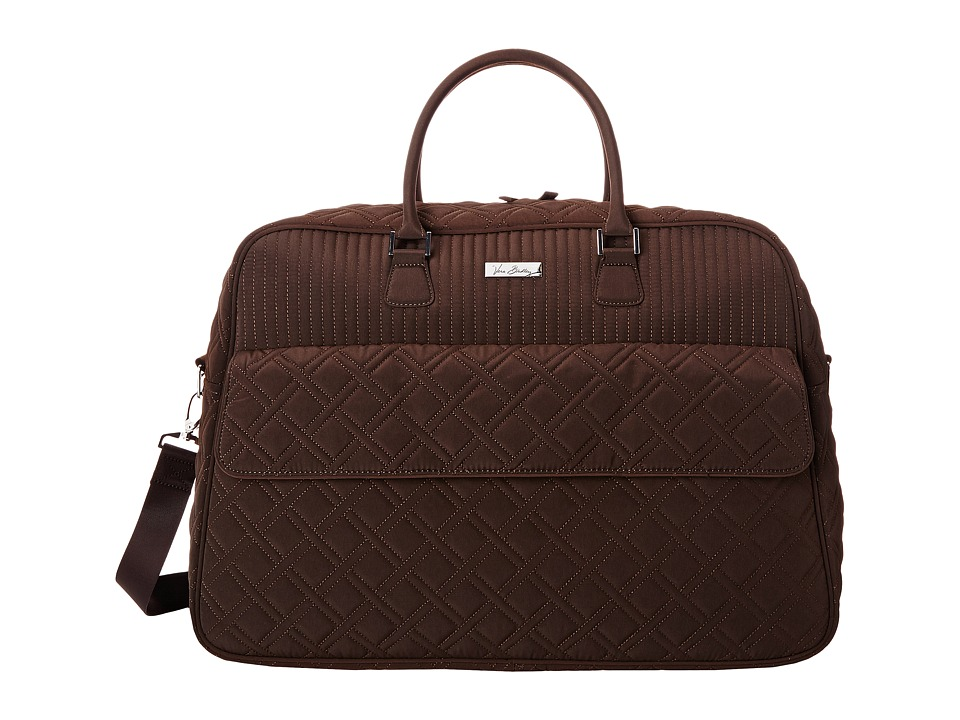 Vera Bradley Luggage - Grand Traveler (Espresso) Duffel Bags