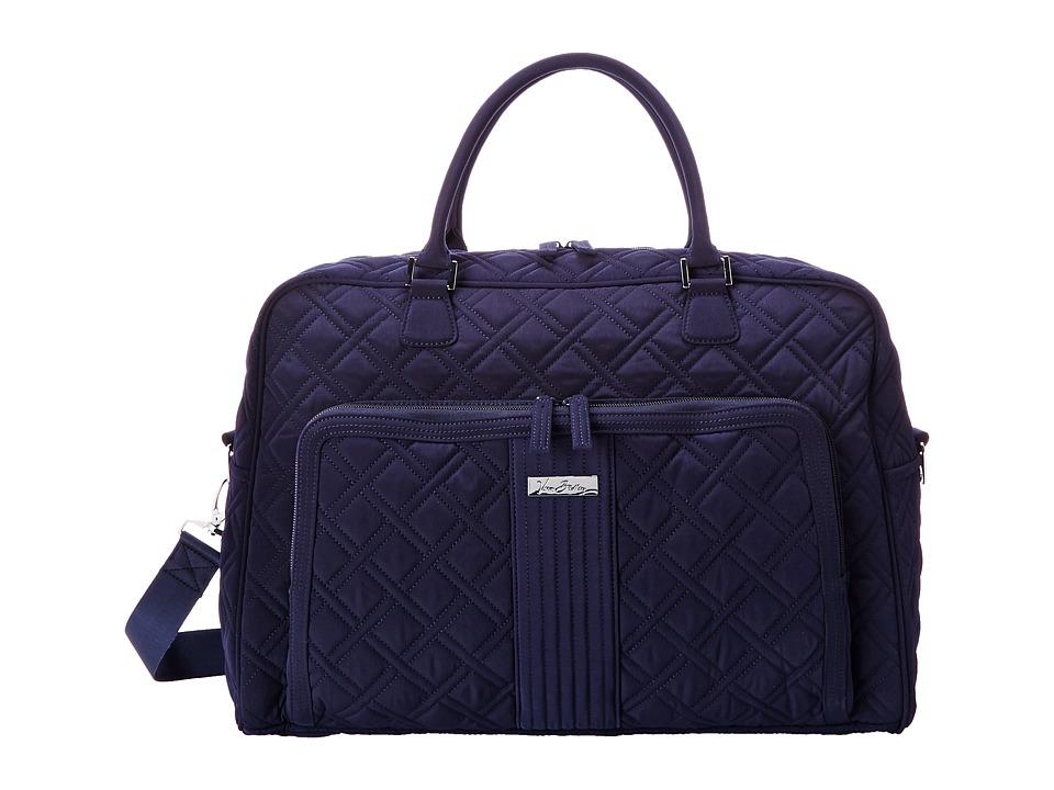 Vera Bradley Luggage - Weekender (Classic Navy) Duffel Bags