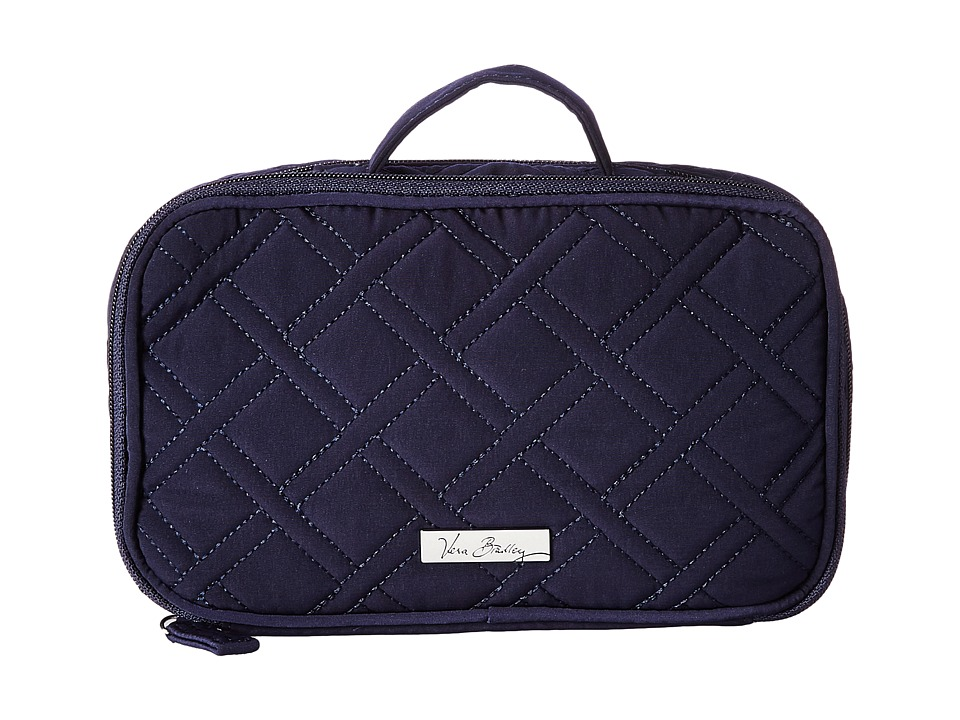 Vera Bradley Luggage - Blush Brush Makeup Case (Classic Navy) Cosmetic Case