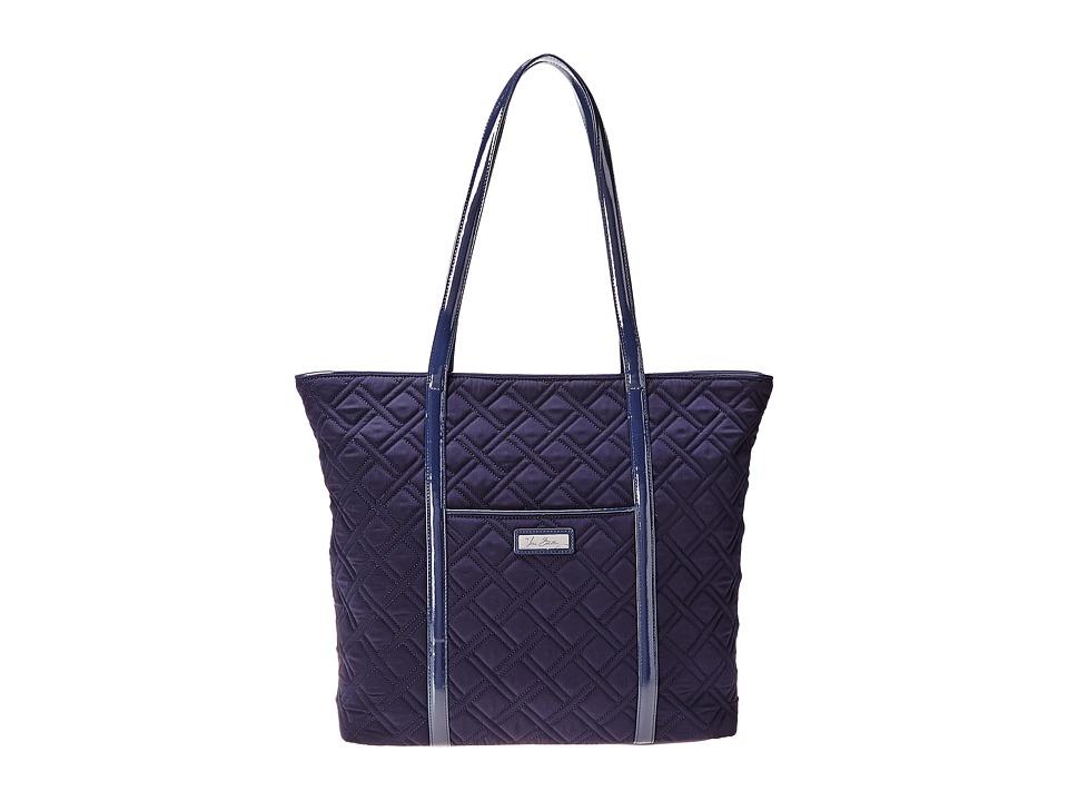 Vera Bradley - Trimmed Vera (Classic Navy/Navy) Tote Handbags