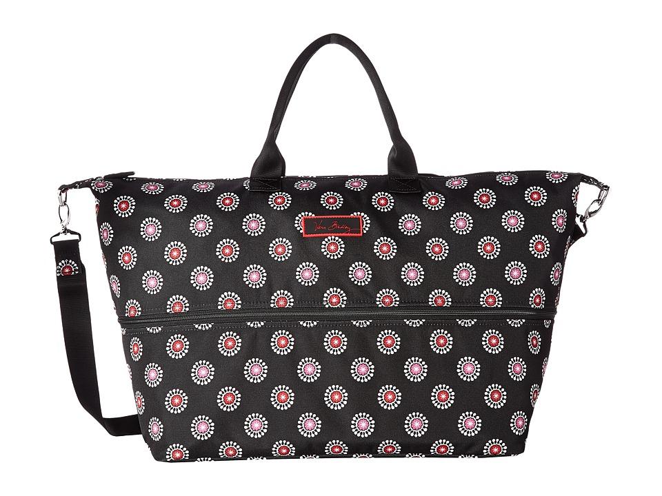 Vera Bradley Luggage - Lighten Up Expandable Travel Bag (Parisian Pom Poms) Weekender/Overnight Luggage