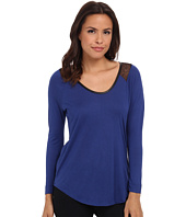 Calvin Klein Jeans - Lace Raglan Sleeve Top