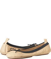 Yosi Samra - Sandrine Soft Leather Fold Up Flat w/ Bow