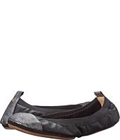 Yosi Samra - Samantha Tuscany Leather Fold Up Flat w/ Contrast Captoe
