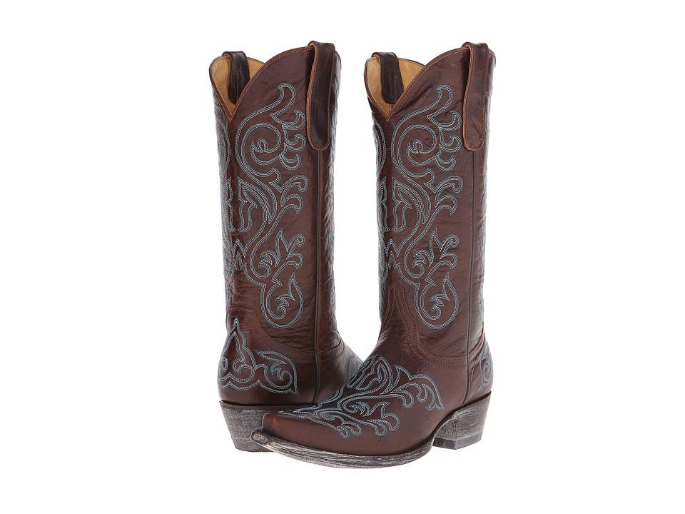 Old Gringo Ashton Brass Cowboy Boots