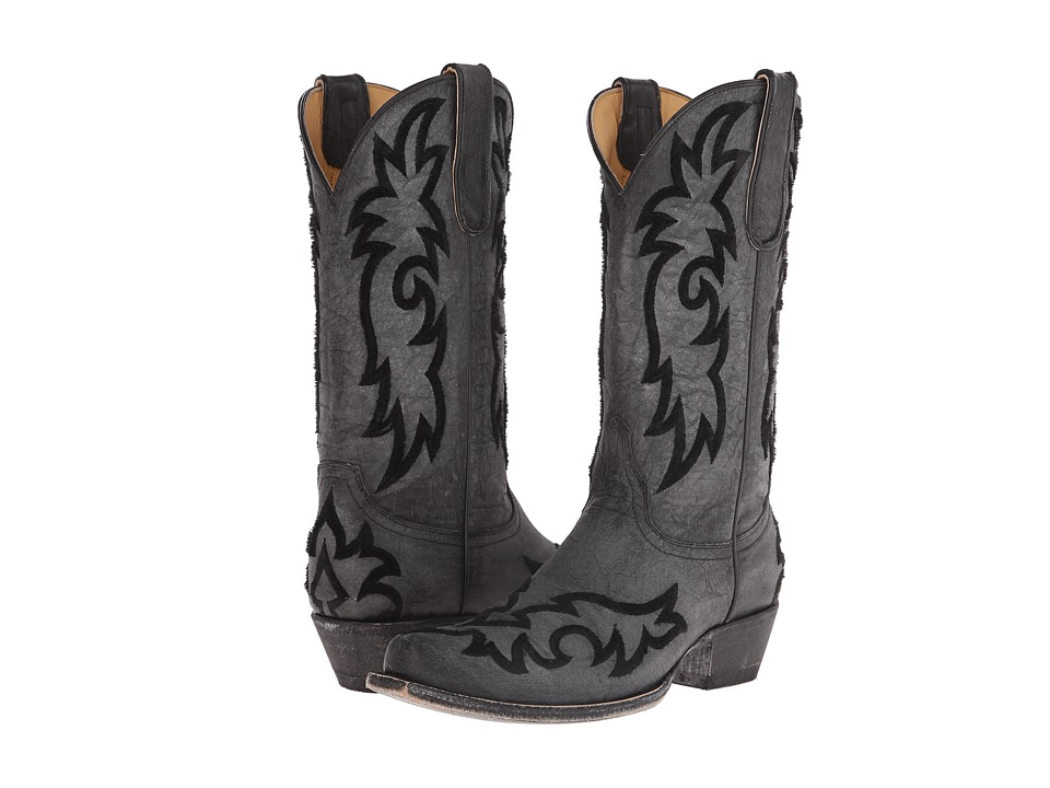 Old Gringo - Satillo (Black) Cowboy Boots