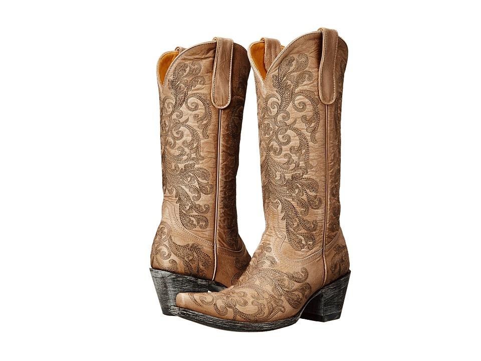 Old Gringo - San Saba (Bone) Cowboy Boots