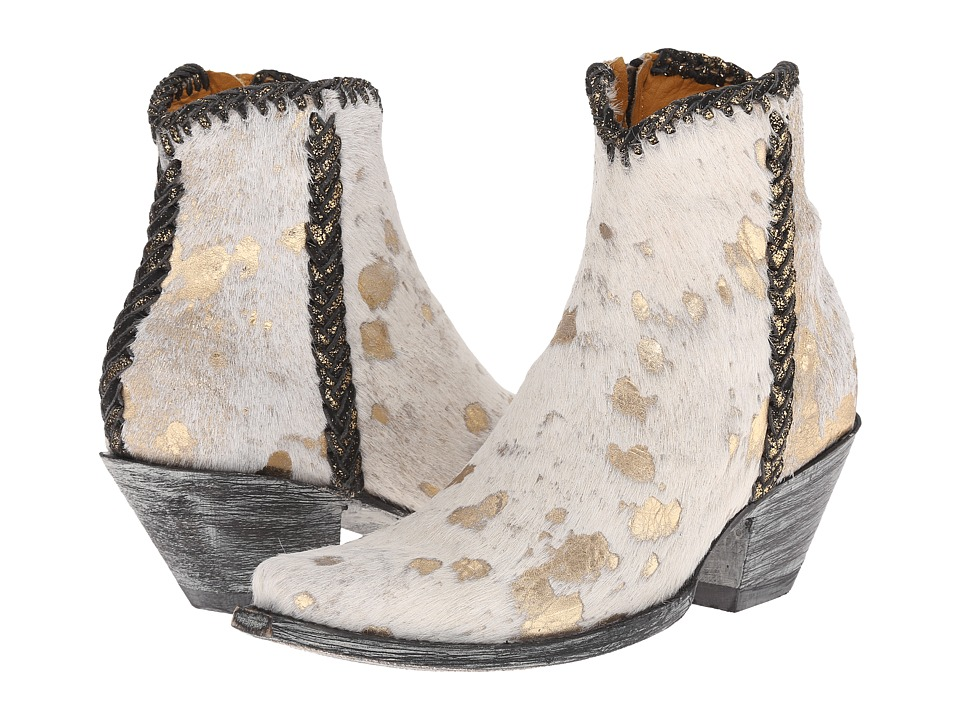 Old Gringo Monica (Beige) Cowboy Boots